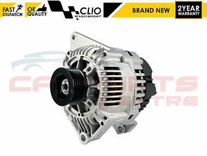 FOR RENAULT CLIO 172 182 2.0 SPORT 1998-2005 ALTERNATOR FOR MODELS WITH AIR CON