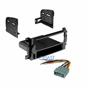 Pioneer Car Stereo Dash Kit Harness Antenna for 2004-2010 Chrysler Dodge Jeep