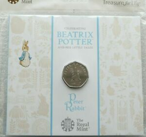 2019-Royal-Mint-Peter-Rabbit-50p-Fifty-Pence-Coin-Pack-Sealed-Uncirculated