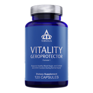 Thrivous Vitality: Anti-Aging DNA Blood Sugar Support Supplement Berberine