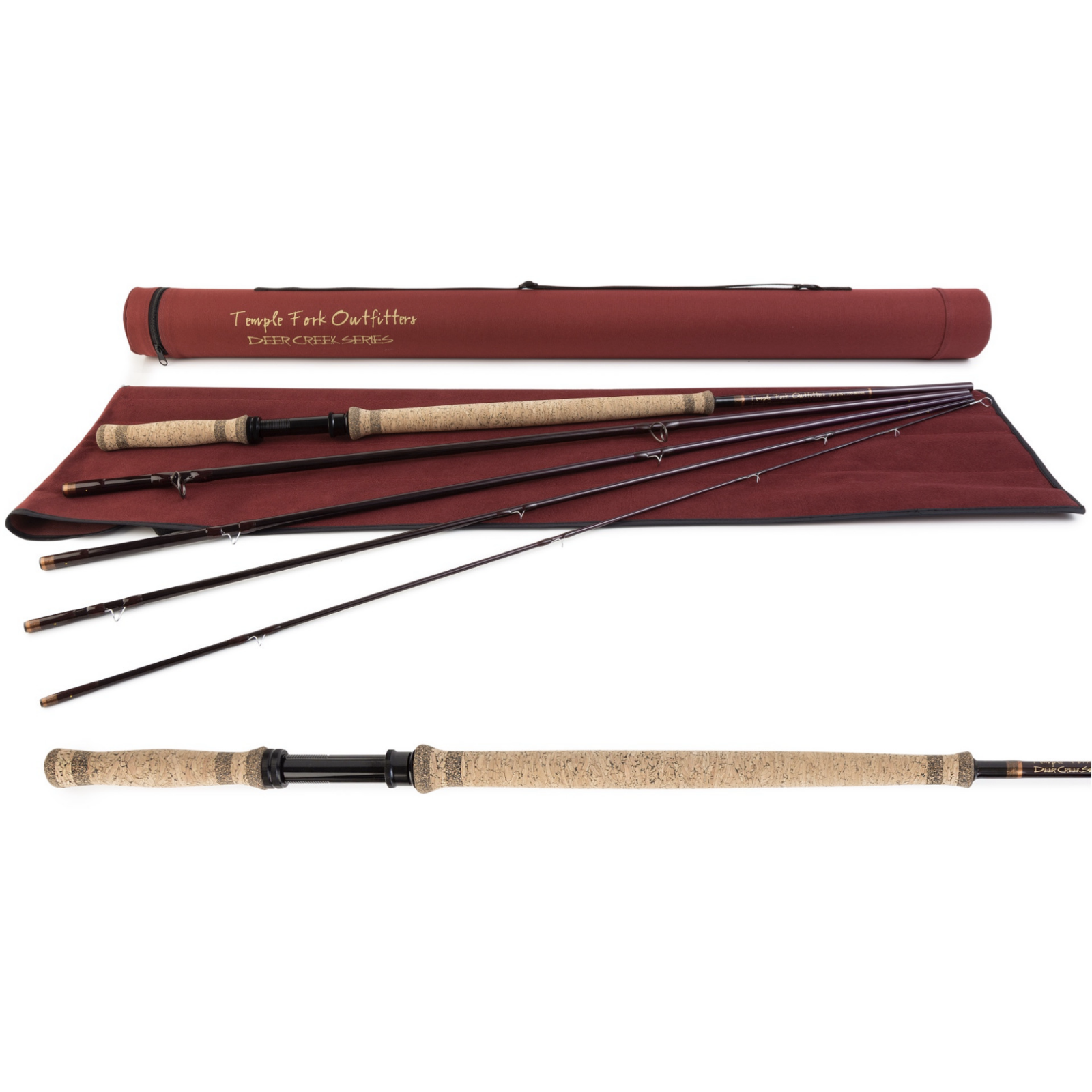 Temple Fork Outfitters 13' Deer Creek Spey Rod wCase  5Piece, 67wt, Medium