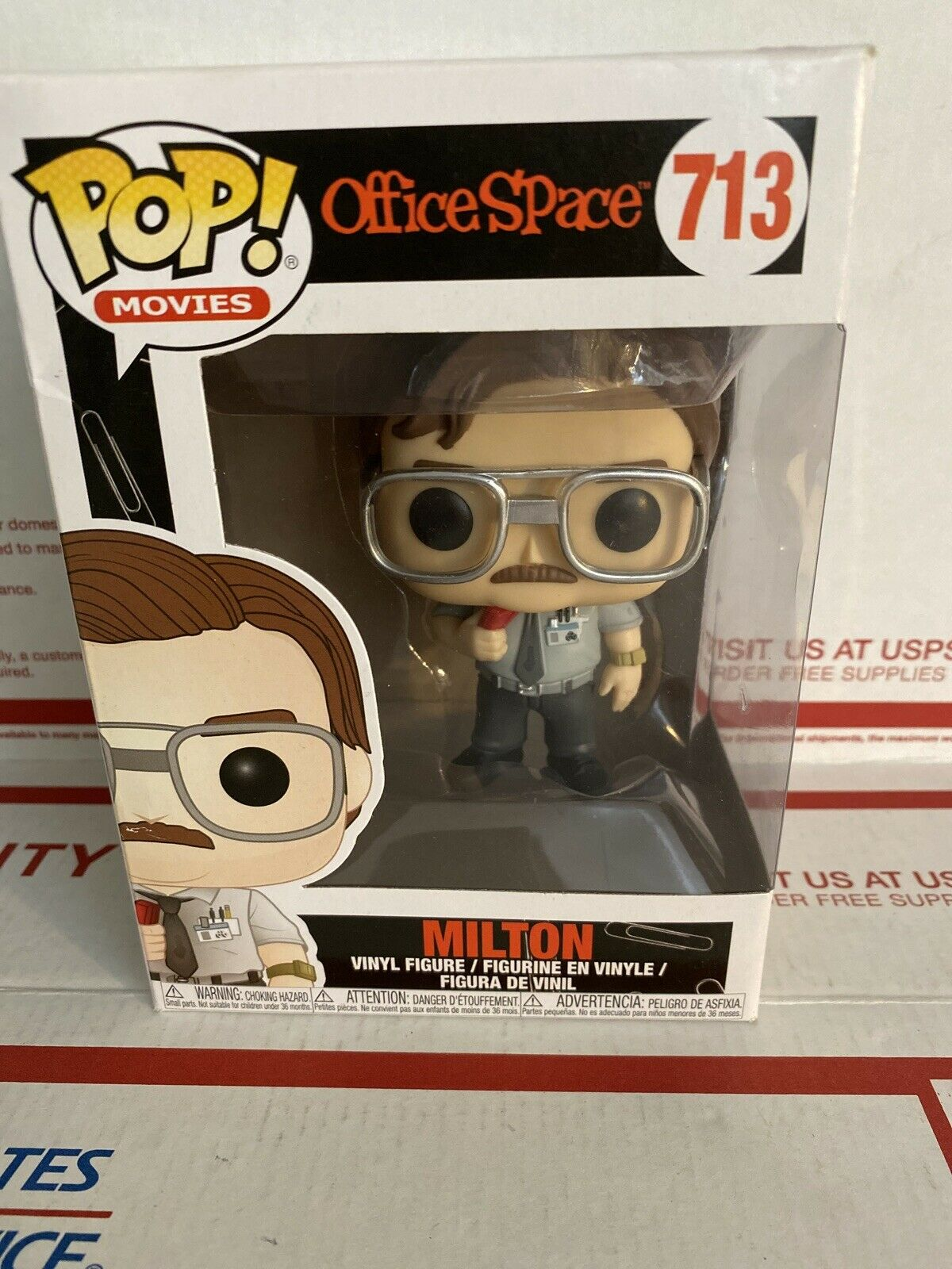 Funko-Pop Movies espace de bureau-Milton Waddams