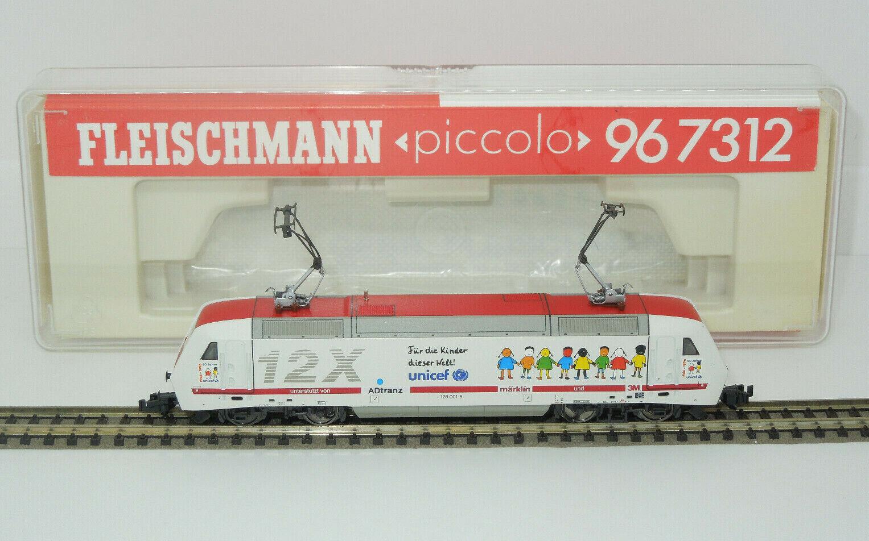 Fleischmann Spur N 967312 E-Lok BR 128 Unicef - 12X (Lo)