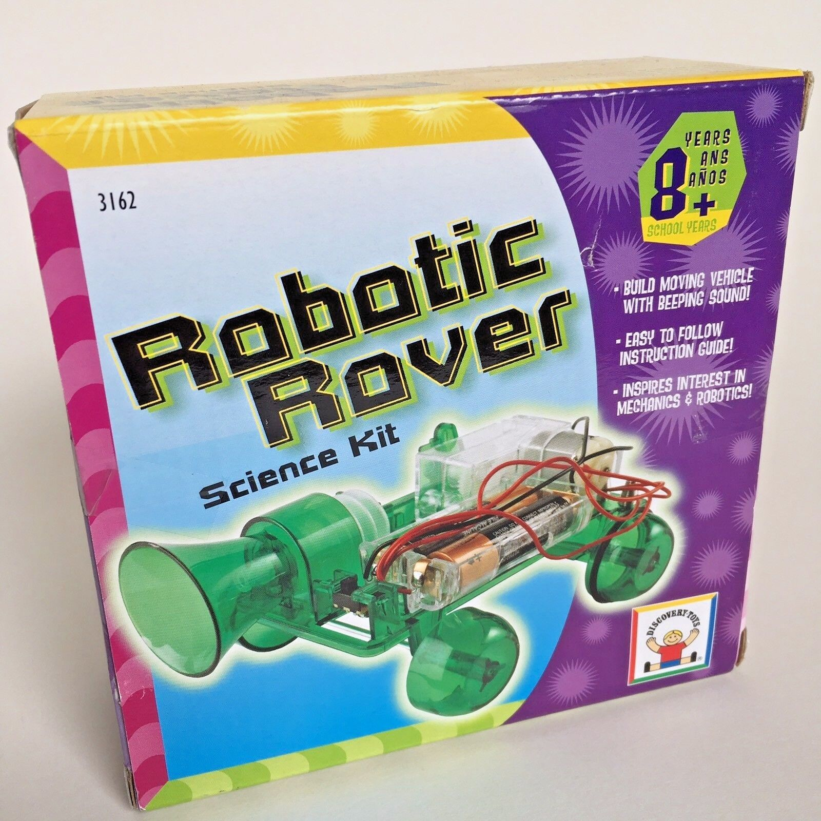 Rare Discovery Toys Robotic Rover Science Kit, Educational Learning Toy