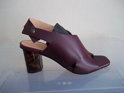 Kurt Geiger London Stride Wine Leather Sandals Sizes UK 5//38-7//40