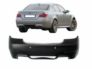 M5-LOOK-Rear-BUMPER-FOR-BMW-E60-03-07-PDC-M-back-ABS-Full-Bodykit-Sport