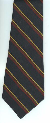 Regimental Tie Polyester Stripe  ROYAL MARINES