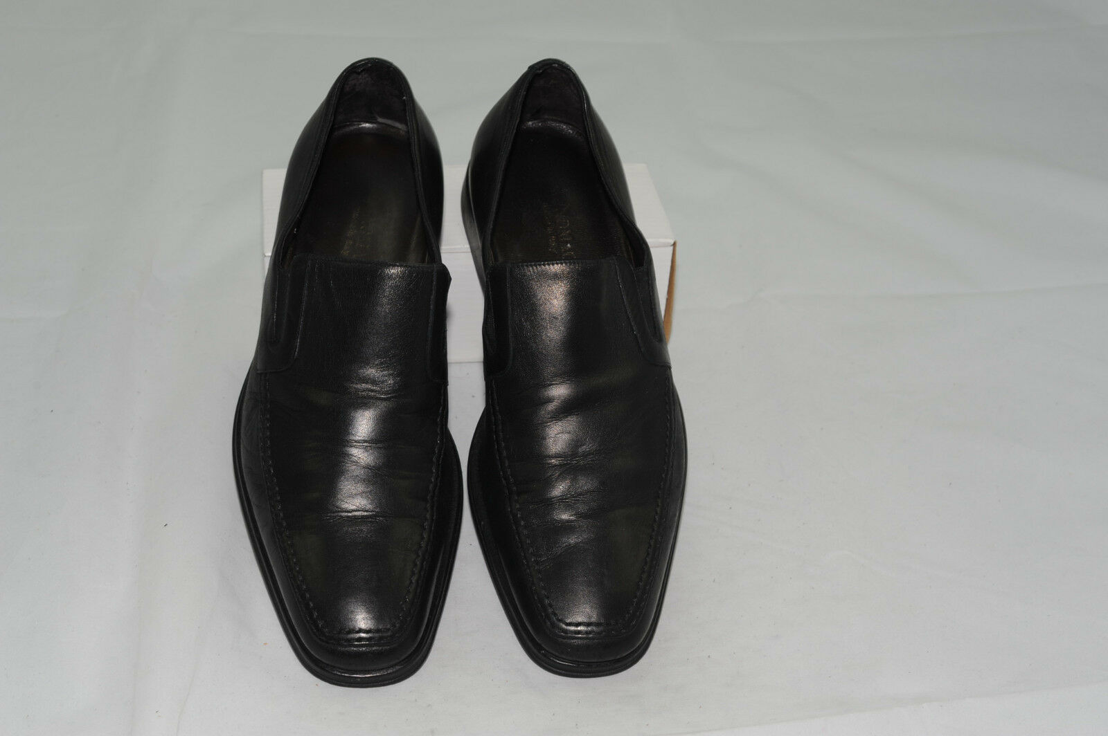 Bruno Magli Leather Slip-Ons Loafer Dress shoes 8 M Made in