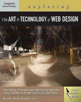 (Very Good)-Exploring the Art and Technology of Web Design (Exploring Art) (Pape