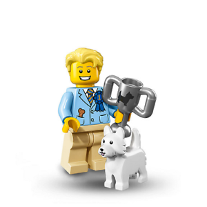 Minifiigure Series 16 6138974 New Col16-12 Lego Dog Show Winner