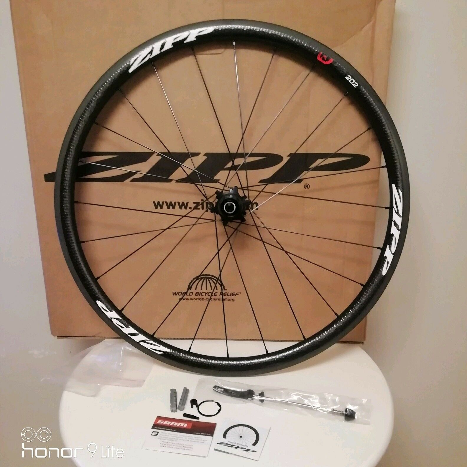 Zipp 202 Firecrest Carbon Clincher REAR wheel NEW Shimano   SRAM hub 11 Speed