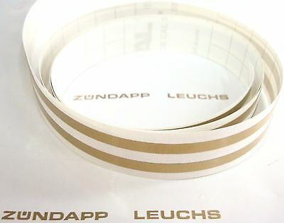 Zündapp Retro Kugelschreiber 5 x Weiß KS 50 super Sport 517 530 TT WC