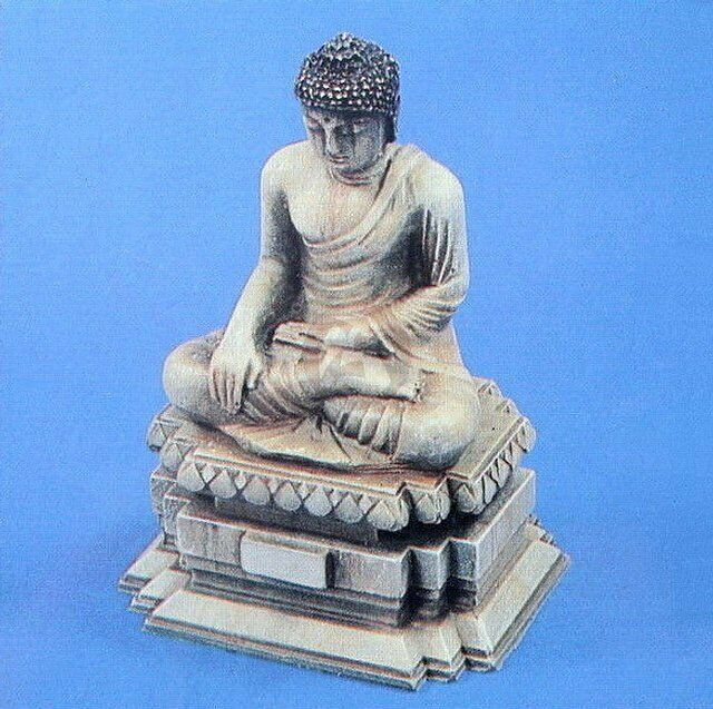 Verlinden 1 35 Vietnamese Sitting Buddha Statue on Pedestal in in in Vietnam War 418 587