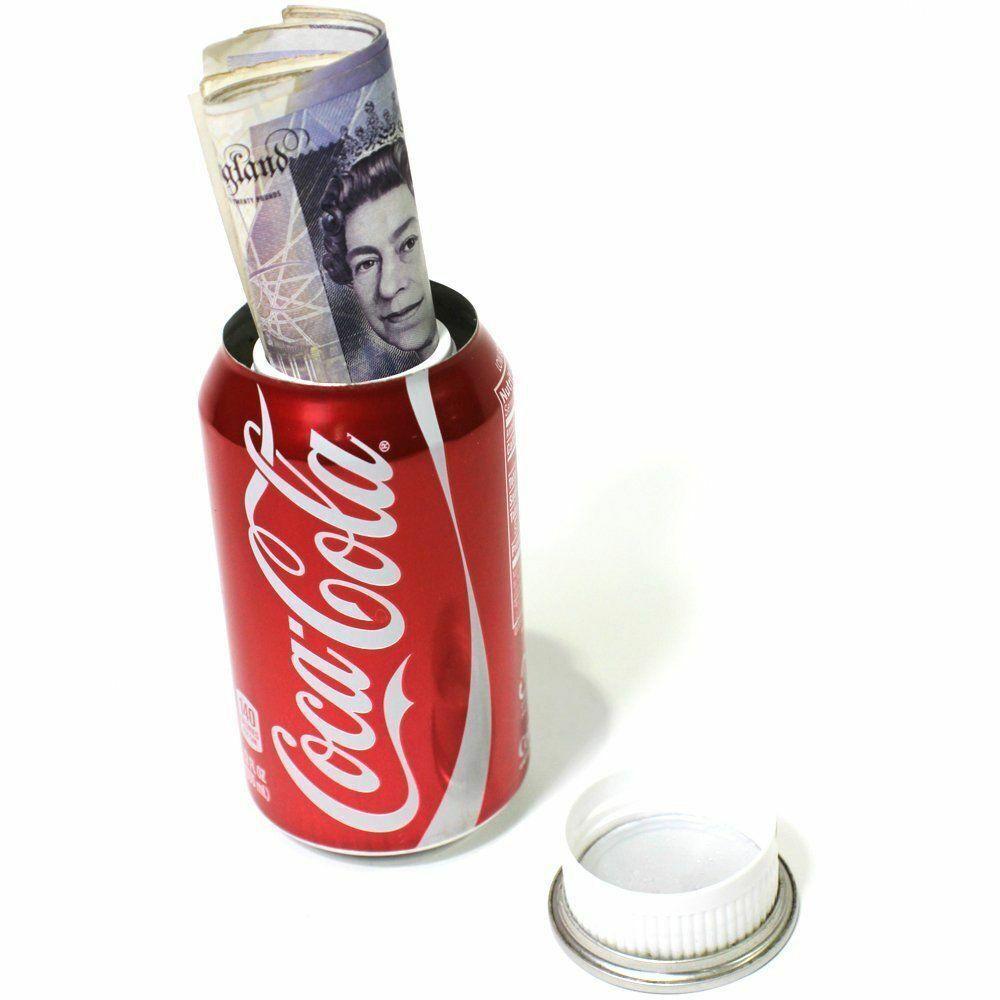 10 X Coca-Cola Coke Caja Stash Diversion Safe puede Oculta Imitación Real