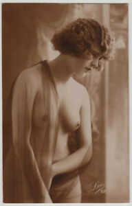 Original-vintage-1920s-French-nude-marked-LEO