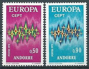 Europe Andorra Ev-4 Humor 1972 Europa Andorra Francese Mnh **