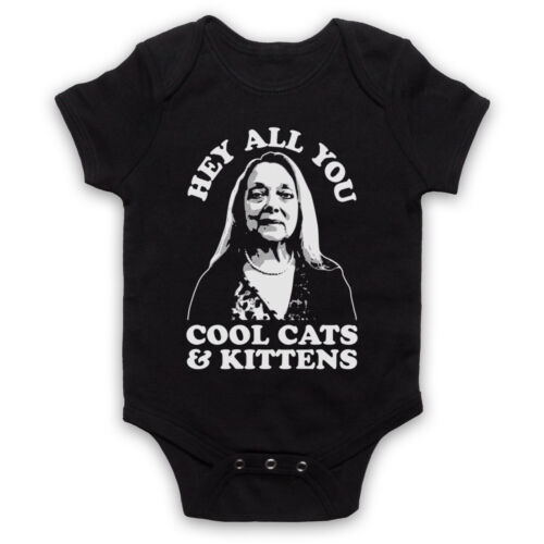 TIGER KING CAROLE BASKIN HEY ALL YOU COOL CATS KITTENS BABY GROW BABYGROW GIFT