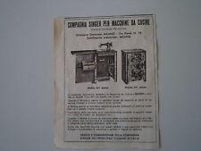 advertising Pubblicità 1947 MACCHINA PER CUCIRE SINGER MOBILE 461