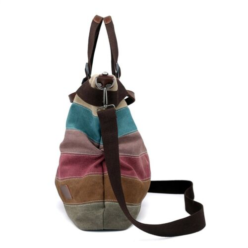 Shoulder Bag Satchel Crossbody Tote bag Purse Canvas MessengerManJiangHong Hobo