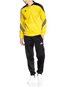 15d54ddaa6fa Suit Tracksuit Adidas SERENO 14 Pes Man Yellow Training Cuff ankles ...