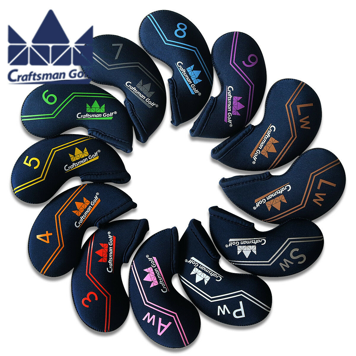 Craftsman Oem Golf Iron Covers Headcovers For Titleist Ap2