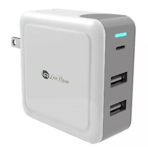 USB-Type-C-Wall-Charger-with-57W-Power-Delivery-3-0-amp-Dual-USB-A-Ports-3-Ports