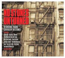 NO STONES UNTURNED - 60 ORIGINAL TRACKS COVERED BY THE STONES (NEW SEALED 3CD)