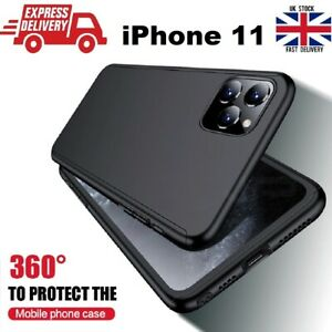Full-Body-Protective-Case-Cover-Ultra-Thin-Tempered-Glass-For-Apple-iPhone-11