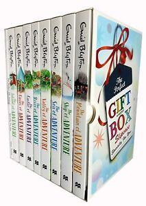 Enid-blyton-adventure-series-8-books-collection-set-Gift-Wrapped-Slipcase-NEW
