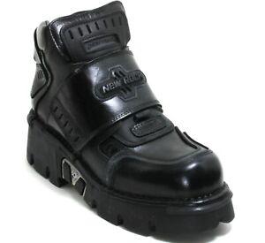 94 Stiefel Plateau Gothic Leder Boots New Rock 557 Planet Metall Original 45
