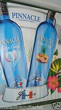 PINNACLE TROPICAL PUNCH & COTTON CANDY VODKA - 3x5 VINYL CANVAS WALL BANNER