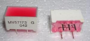 LOT DE 5 PIECES MV57173 LED RECTANGULAIRE ROUGE - France - État : Neuf: Objet neuf et intact, n'ayant jamais servi, non ouvert, vendu dans son emballage d'origine (lorsqu'il y en a un). L'emballage doit tre le mme que celui de l'objet vendu en magasin, sauf si l'objet a été emballé par le fabricant d - France