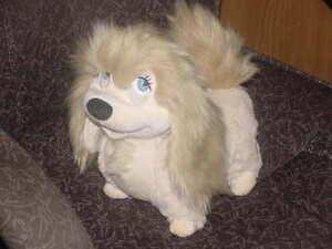 11 Disney Peg The Pekingese Plush Stuffed Toy From Disney Lady The Tramp Ebay