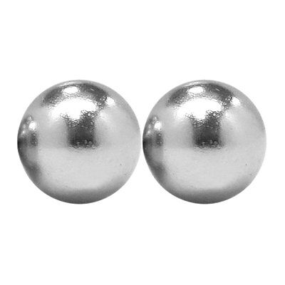 1/2 Inch Strong Neodymium Rare Earth Sphere Magnets N48 (2 Pack)