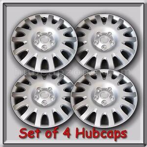 set of 4 16 silver toyota camry hubcaps 2002 2006 replica camry wheel c. Black Bedroom Furniture Sets. Home Design Ideas