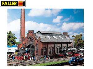Faller-H0-120159-Lokschuppen-Lokwerkstatt-NEU-OVP