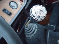 Triumph Tr6 Gt6 Spitfire Spider Shift Knob Screw W/ Adapter Custom One Of A Kind