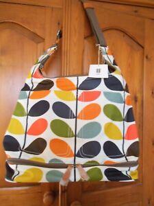 87389741f ORLA KIELY MULTI STEM PRINT CHANGING BAG + FOLDING MAT NEW - BABY ...