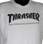 thumbnail 1 - Thrasher Skateboard Magazine Tshirt Size Medium Skateboarding White