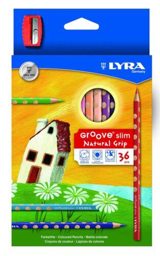 LYRA GROOVE SLIM 2821360 MATITE COLORATE verniciato in caso di cartone 36 asso.