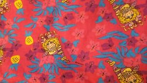 Vintage-muppets-Miss-Piggy-fabric-by-Henson-material-40-034-x-66-034