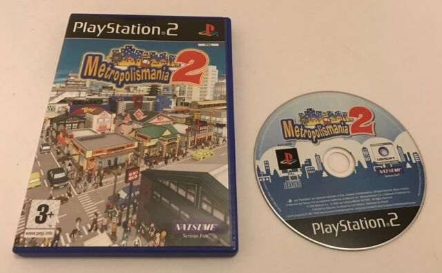 Metropolismania 2 II Sony PlayStation 2 PS2 Boxed PAL