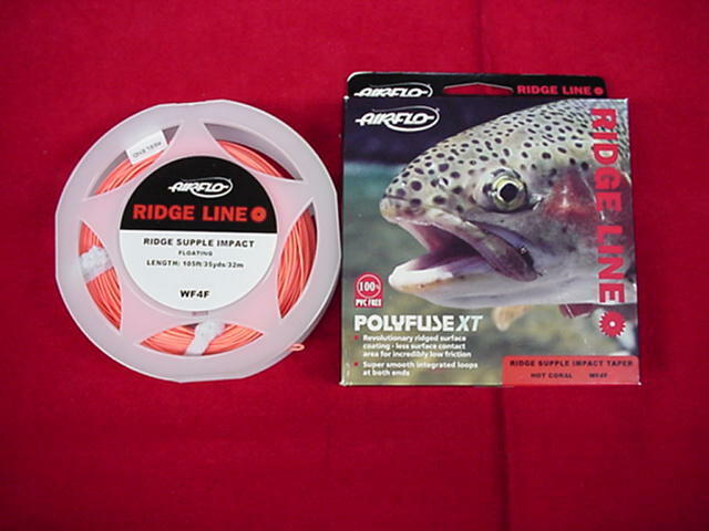 Air Flo Ridge Supple Impact Fly Line GREAT NEW
