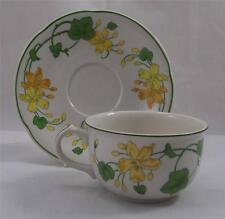 Villeroy & and Boch GERANIUM - large breakfast cup and saucer EXCELLENT