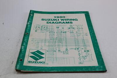 1980 SUZUKI WIRING DIAGRAMS OEM 99923-80755 | eBay