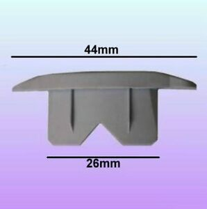 50-x-Meccanismo-di-Bloccaggio-Fissaggio-Clip-Tappi-Finali-per-37mm-Alu-Sagoma