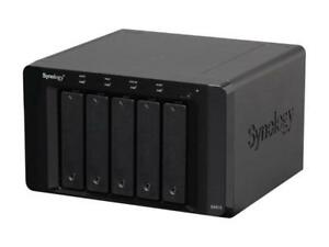 Synology DX513 Diskless System Expansion Unit for Increasing Capacity of the Syn