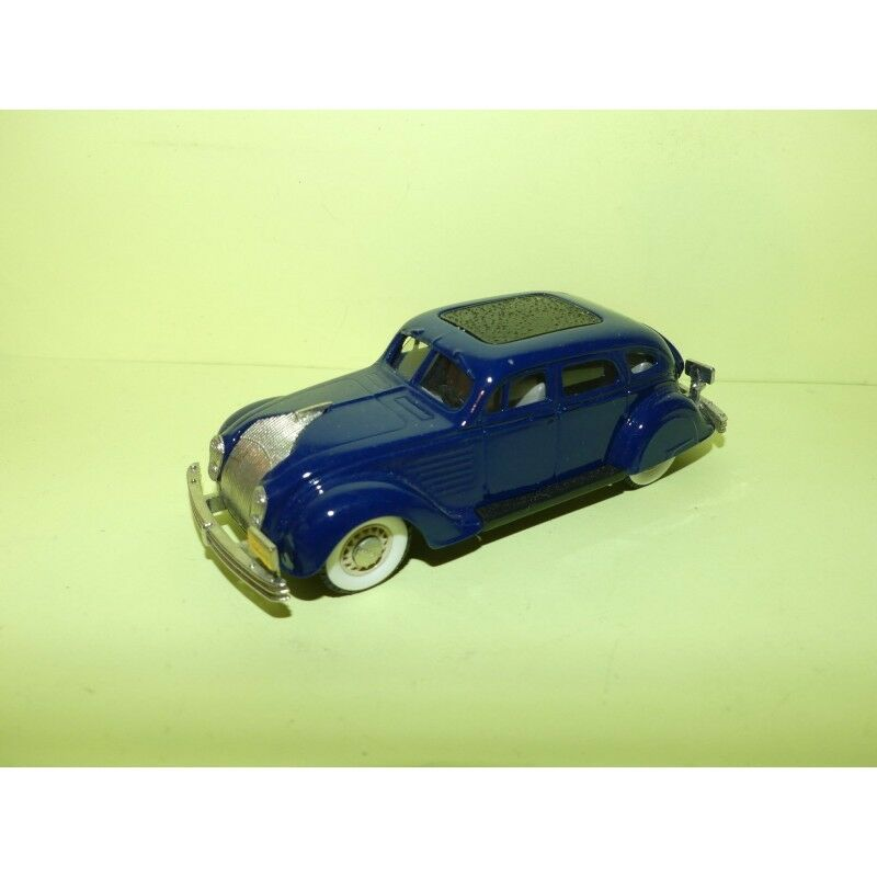 CHRYSLER AIRFLOW 1934 Bleu BROOKLIN 1 43 sans boite