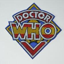 "Doctor Who K9 ROBOT DOG 3/"" Logo Sew Ironed On Badge Embroidery Applique Patch"