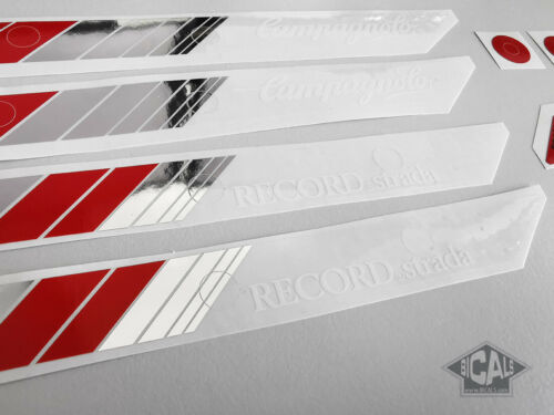 silk screen free shipping Campagnolo Record Strada decal sticker for rims